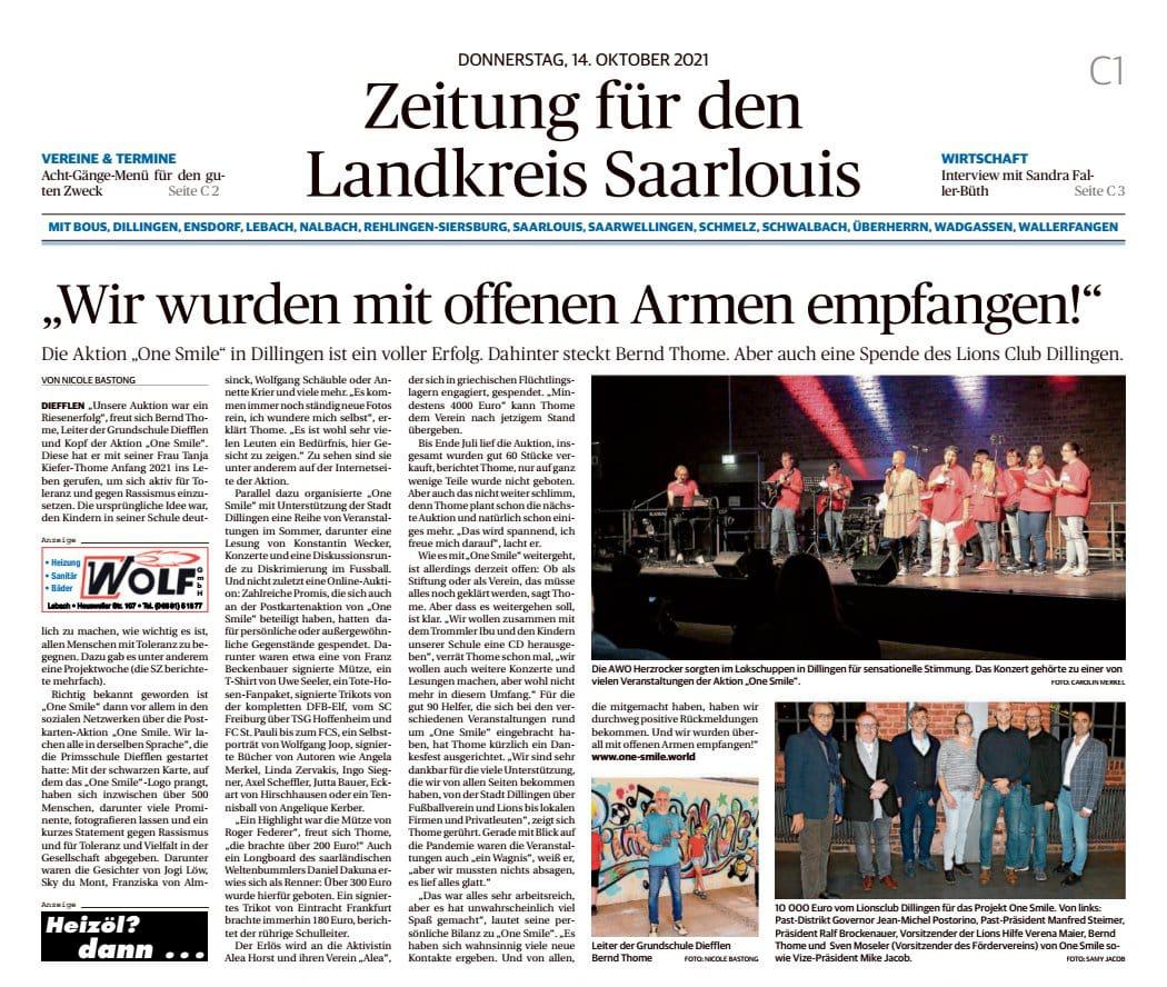 Zeitung für den Landkreis Saarlouis